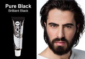 צבע שחור לזקן