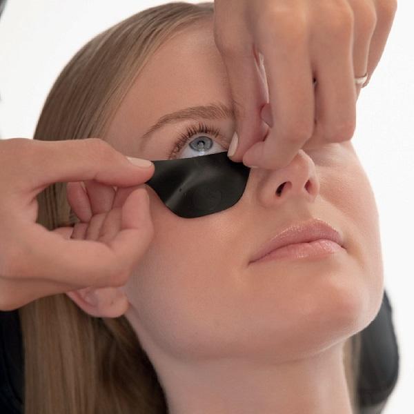 עיניות סליקון להגנה צביעת ריסים